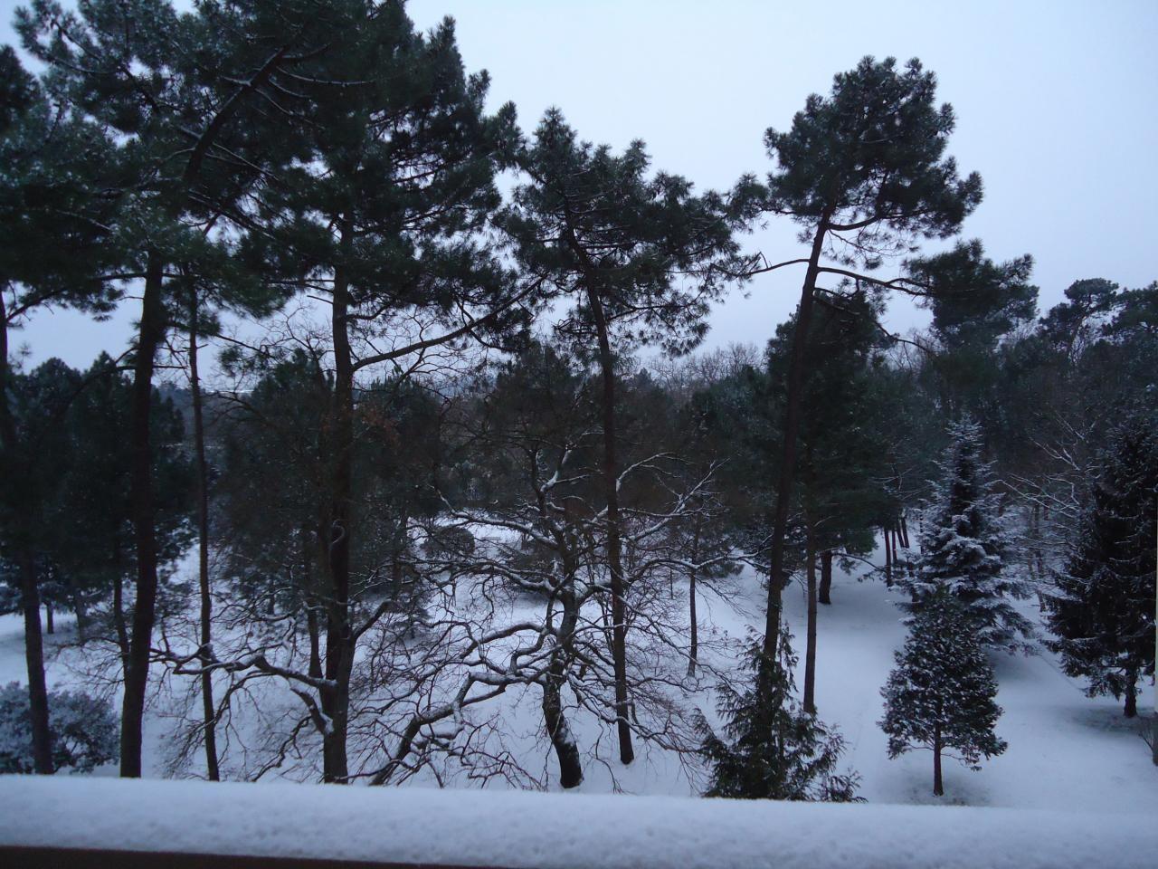 Residence sous la neige 3