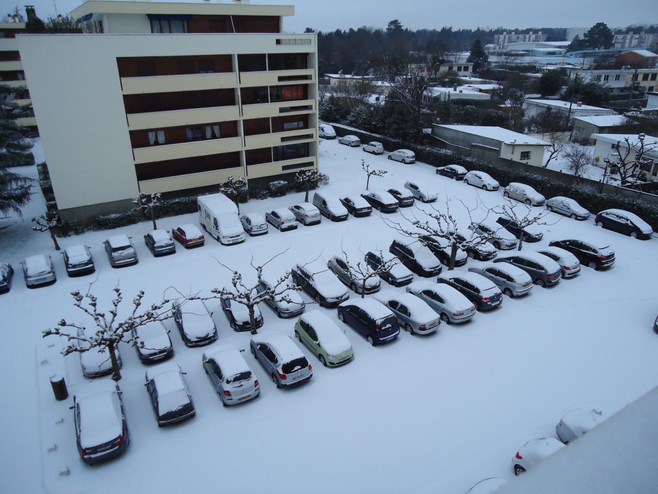 Résidence sous la neige 05 Février 2012